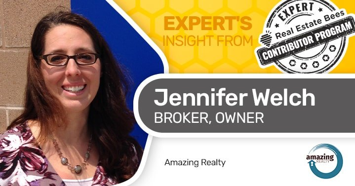 Jennifer Welch is an expert contributor for Real Estate Bees.